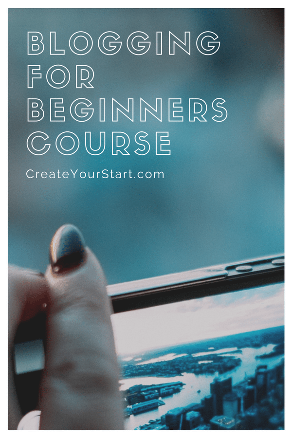 Online Blogging Course