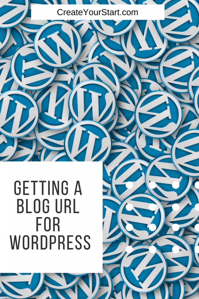 URL for WordPress Blog