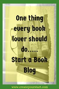 Starting a book blog
