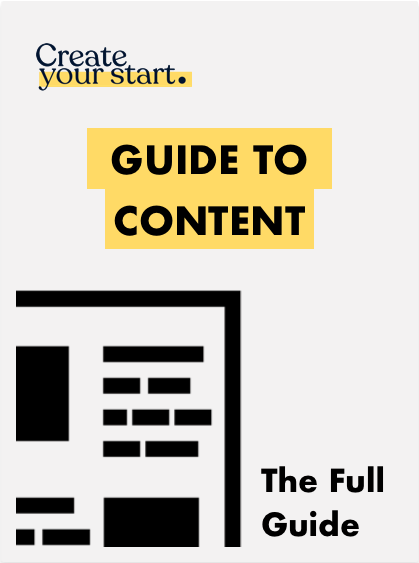 CYS Guide to Content Cover