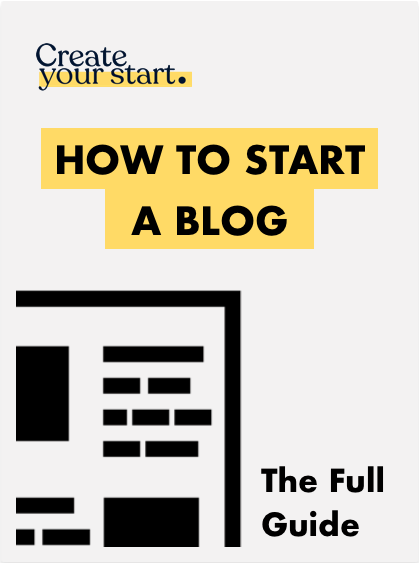 CYS How to Start a Blog Cover